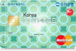 Korea DAYPASS 체크카드